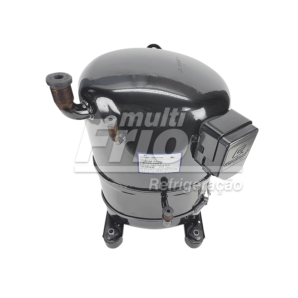Motor Compressor 5 HP Copeland CR62KQM TF5 R22 Média Trifásico 220V