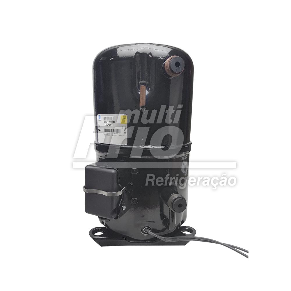 Motor Compressor 5 HP Tecumseh Lunite TAG-4561-T Trifásico 220V Média R22