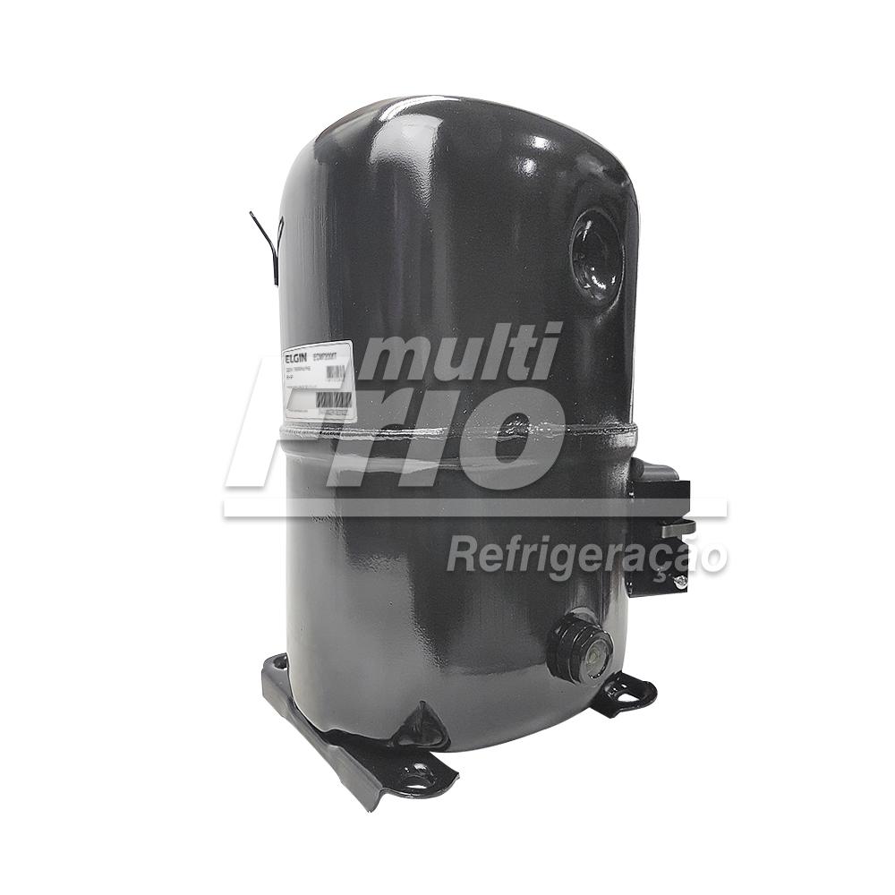 Motor Compressor 6 HP Elgin ECM-72000-T Trifásico 220V R22 Média
