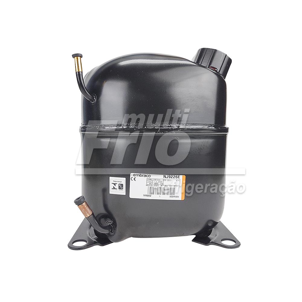 Motor Compressor Aspera Embraco NJ 9226E 1HP+ 220V Monofásico R22 Média