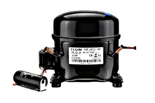 Motor Compressor ELGIN 1/5 HP ECP 0065 ECI 220 V R134a
