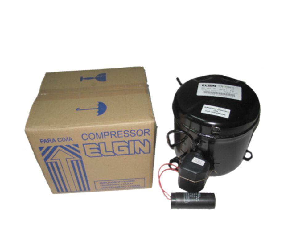 MOTOR COMPRESSOR ELGIN 1/5 HP TCM 2015E GAS R22 220V 60 HZ