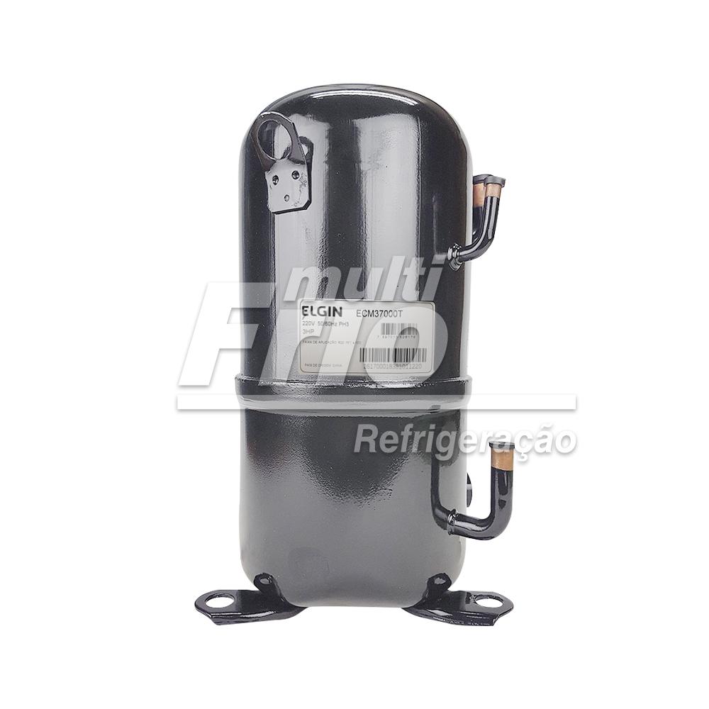 Motor Compressor Elgin 3,0 HP ECM-37000-T Trifásico 220V R22 Média