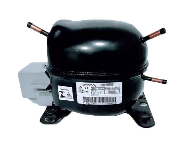 Motor Compressor EMBRACO 1/4+ FFUS 80AK 115-127V Gás Mo49 R12 Blends
