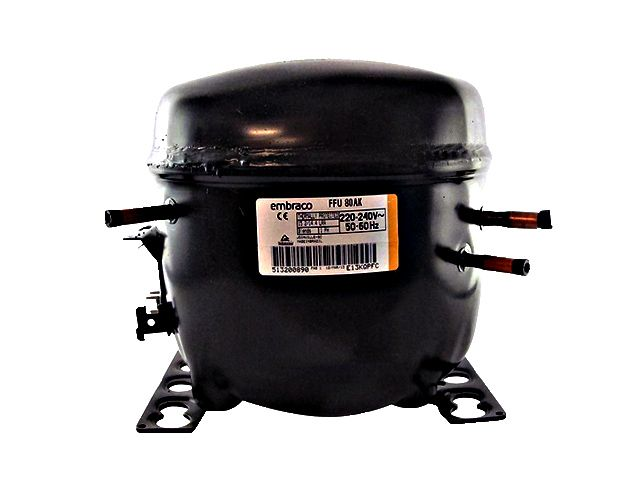 Motor Compressor EMBRACO 1/4+ HP FFU 80AK 220-240V R134 A R600A R290