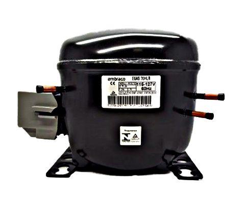Motor Compressor Embraco 1/5 Egas 70 HLR 110v R134