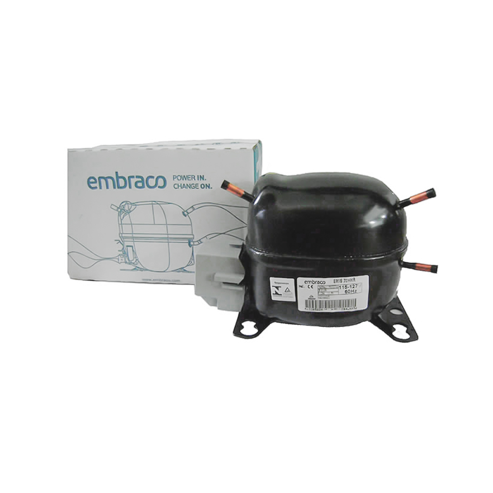 Motor Compressor Embraco 1/5 Emis 70hhr 110v R134