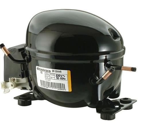 Motor Compressor EMBRACO 1/6 HP EMU 60 CLP 110 V R600
