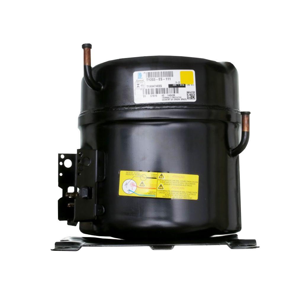 Motor Compressor 1,5 HP Lunite Tecumseh TYA9474EES Monofásico  R22 220v Media