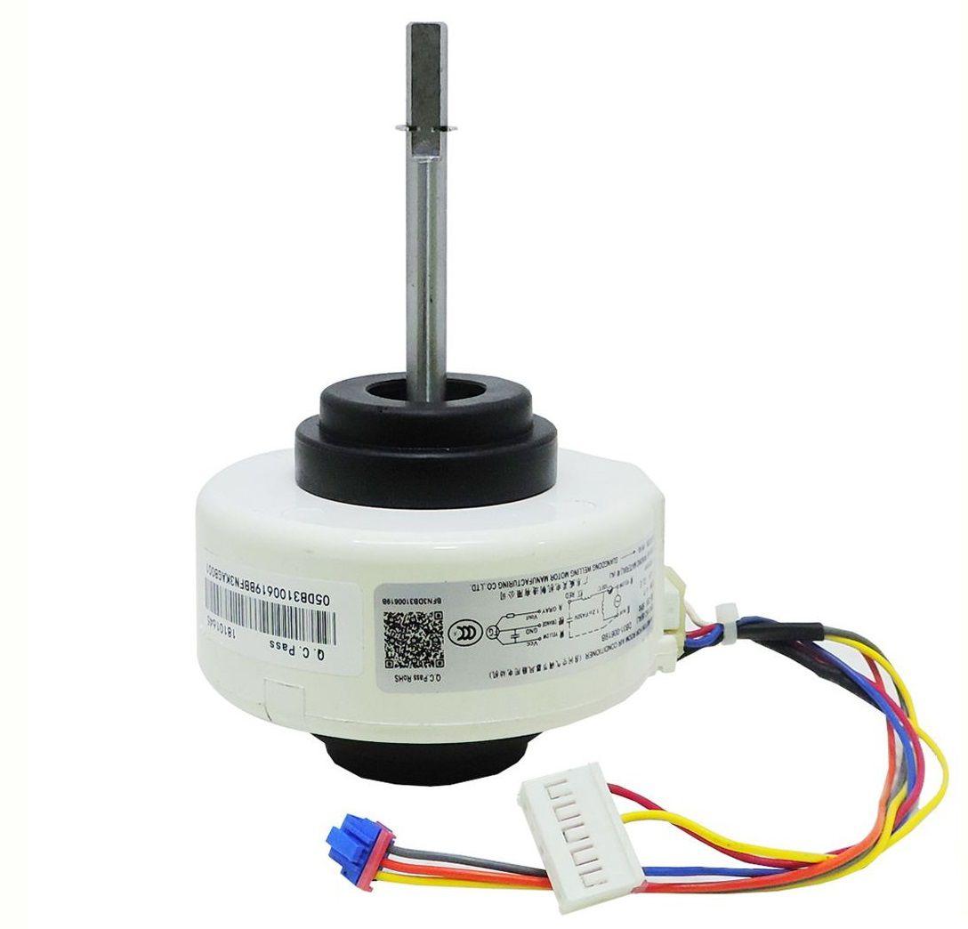 Motor Ventilador Evaporadora Ar Condicionado Samsung As09 As12 Asv09 Asv12
