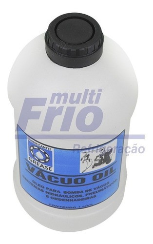 Óleo Mineral Para Bomba De Vácuo Iso Vg 46 Grease 1 Litro