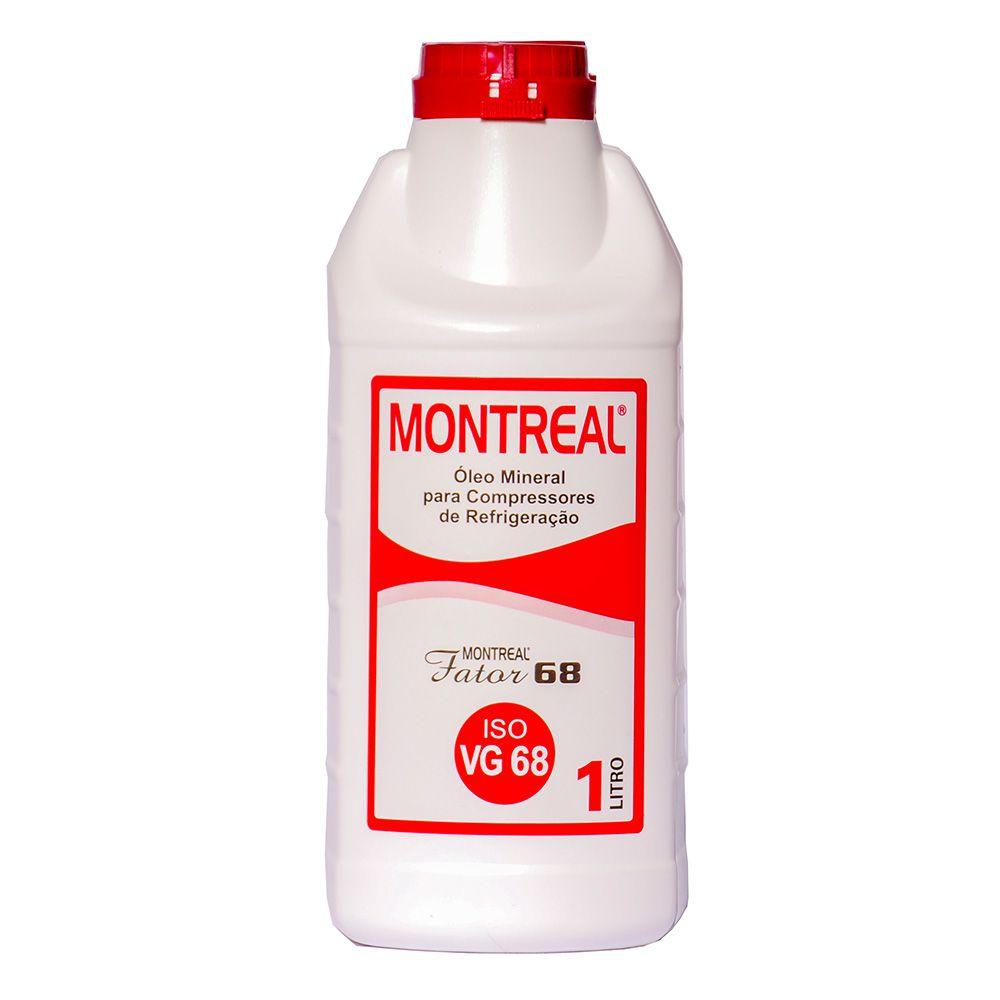 Óleo Montreal Fator 68 1L Para Compressor Refrigeração