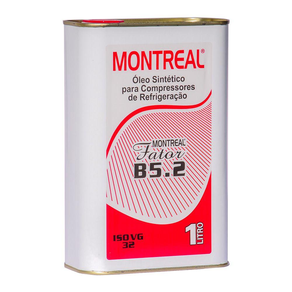 Óleo Sintético Montreal Fator B5.2 ISO VG 32 1 Litro