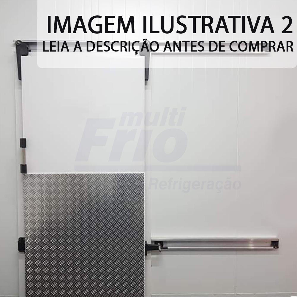 Porta de Correr Com Abertura Para o Lado Direito Para Câmara Frigorífica De Resfriados 2,00 X 1,00 M