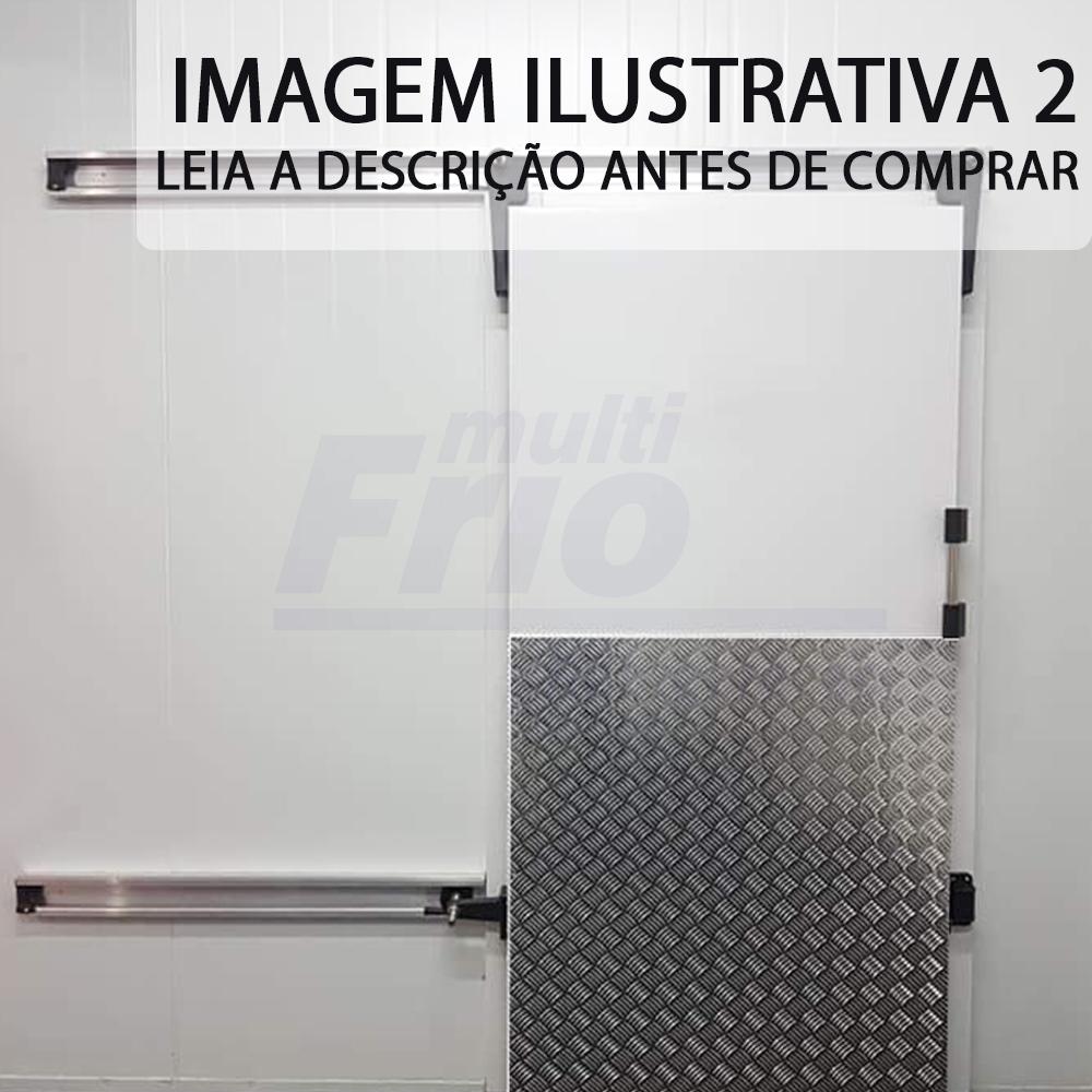 Porta de Correr Com Abertura Para o Lado Esquerdo Para Câmara Frigorífica De Resfriados 2,00 X 1,00 M