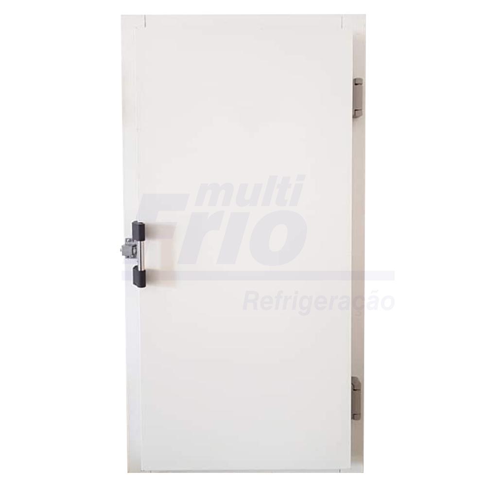 Porta Giratória Resersível Com Puxador e 4 Batentes Para Câmara Frigorífica De Congelados 2,00 X 1,00 Metros