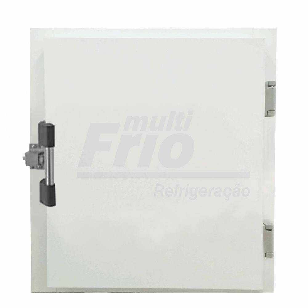 Porta Giratória Portinhola Óculo Reversível Com Puxador e 4 Batentes Para Câmara Frigorífica De Congelados 0,60 X 0,60 Metros