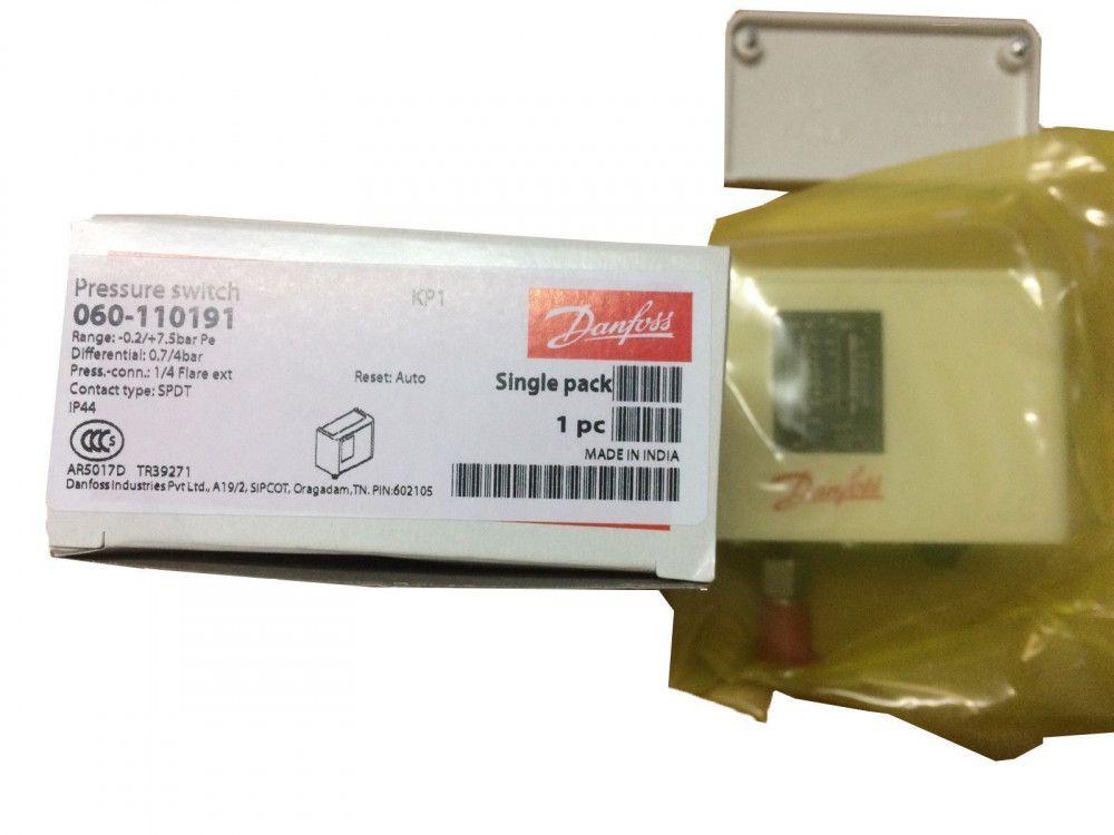Pressostato De Baixa KP1 Rearme Automatico DANFOSS 060110191