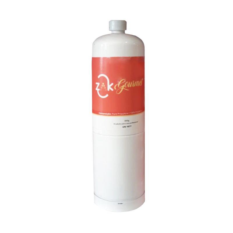 Refil Gás Gourmet para Maçarico 100% Propileno 400g