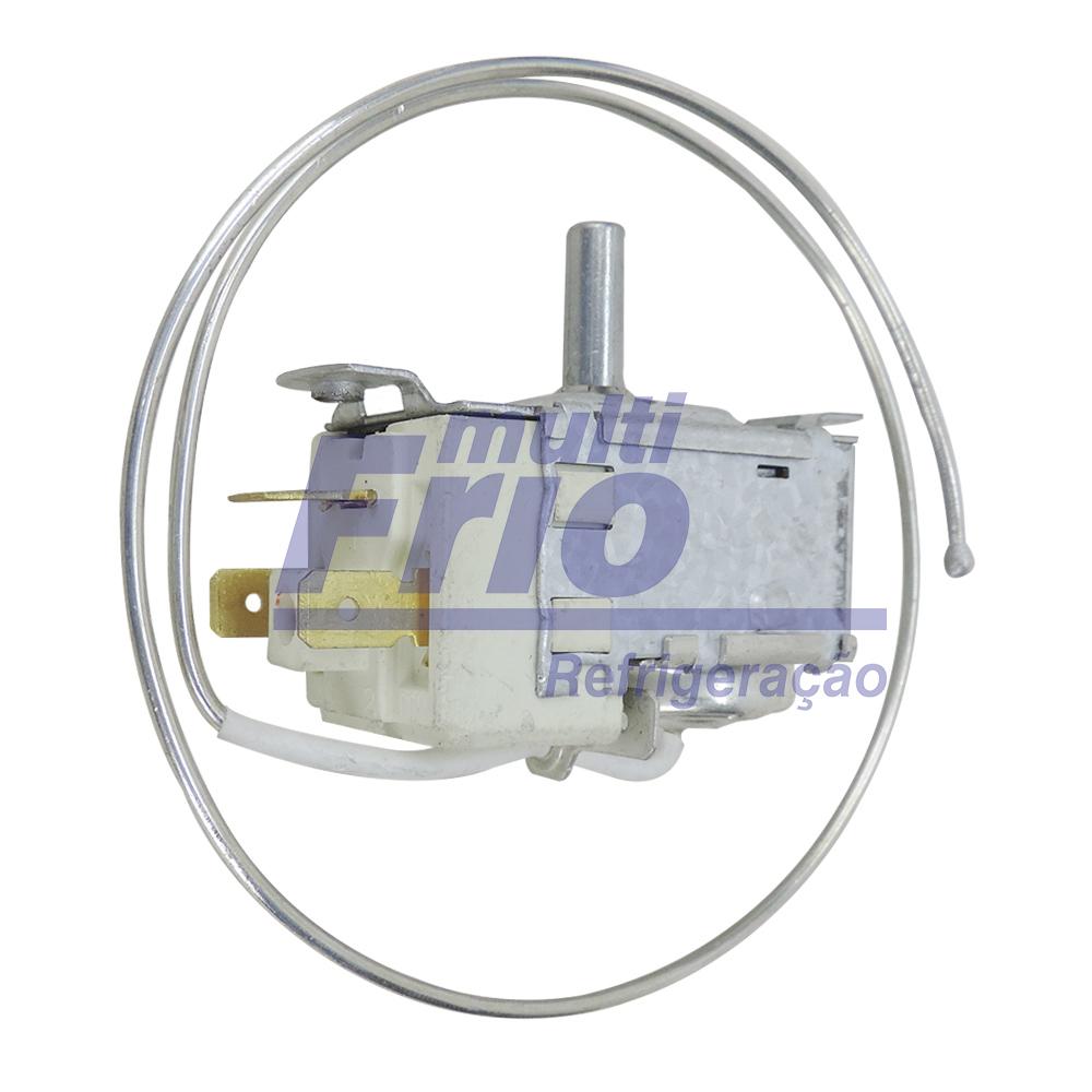 Termostato Ar Condicionado de Janela Brastemp e Consul 7.000 A 30.000 BTUS  50/60 HZ  125/250V  6A  com Chave Auxiliar (Haste curta)