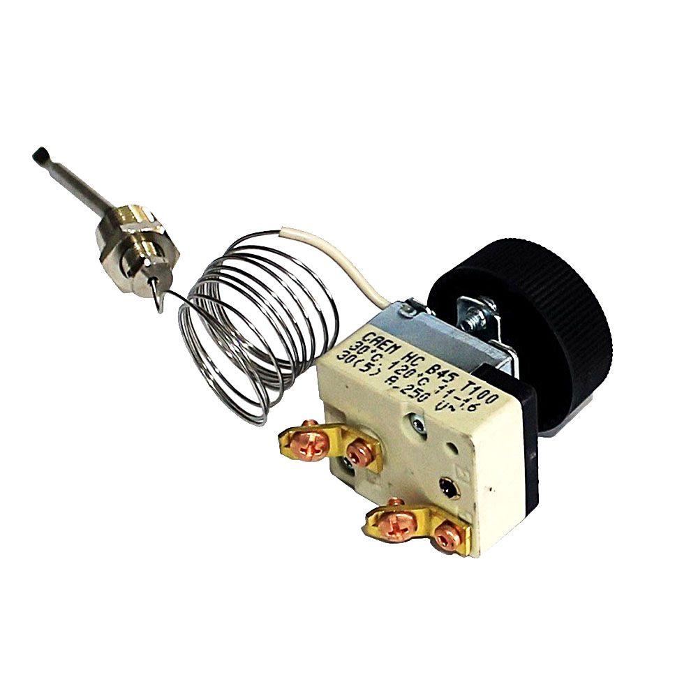 Termostato Capilar TU HC 120c 30A 250VAC Caem Cafeteira e Banho Maria