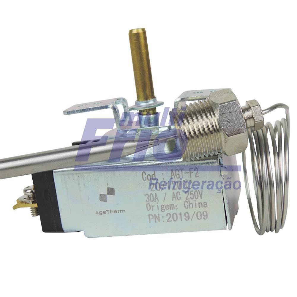 Termostato Regulável para Calor 0 a 120 C