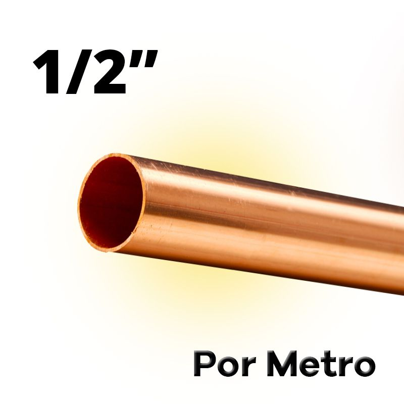 Tubo Cano Cobre 1/2 Flexível Por Metro