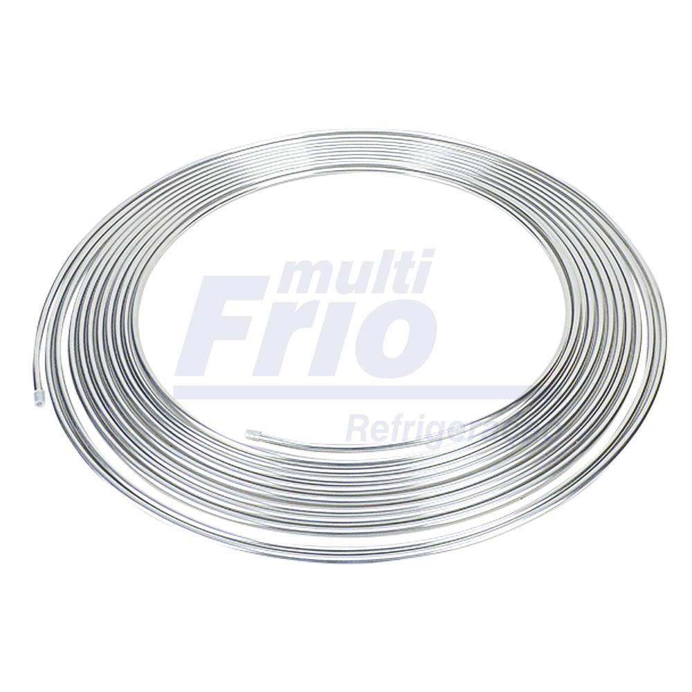 Tubo De Alumínio Flexível 1/4 Panqueca Com 15m