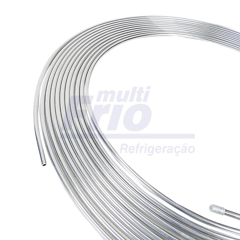 Tubo De Alumínio Flexível 5/8 Panqueca Com 15m