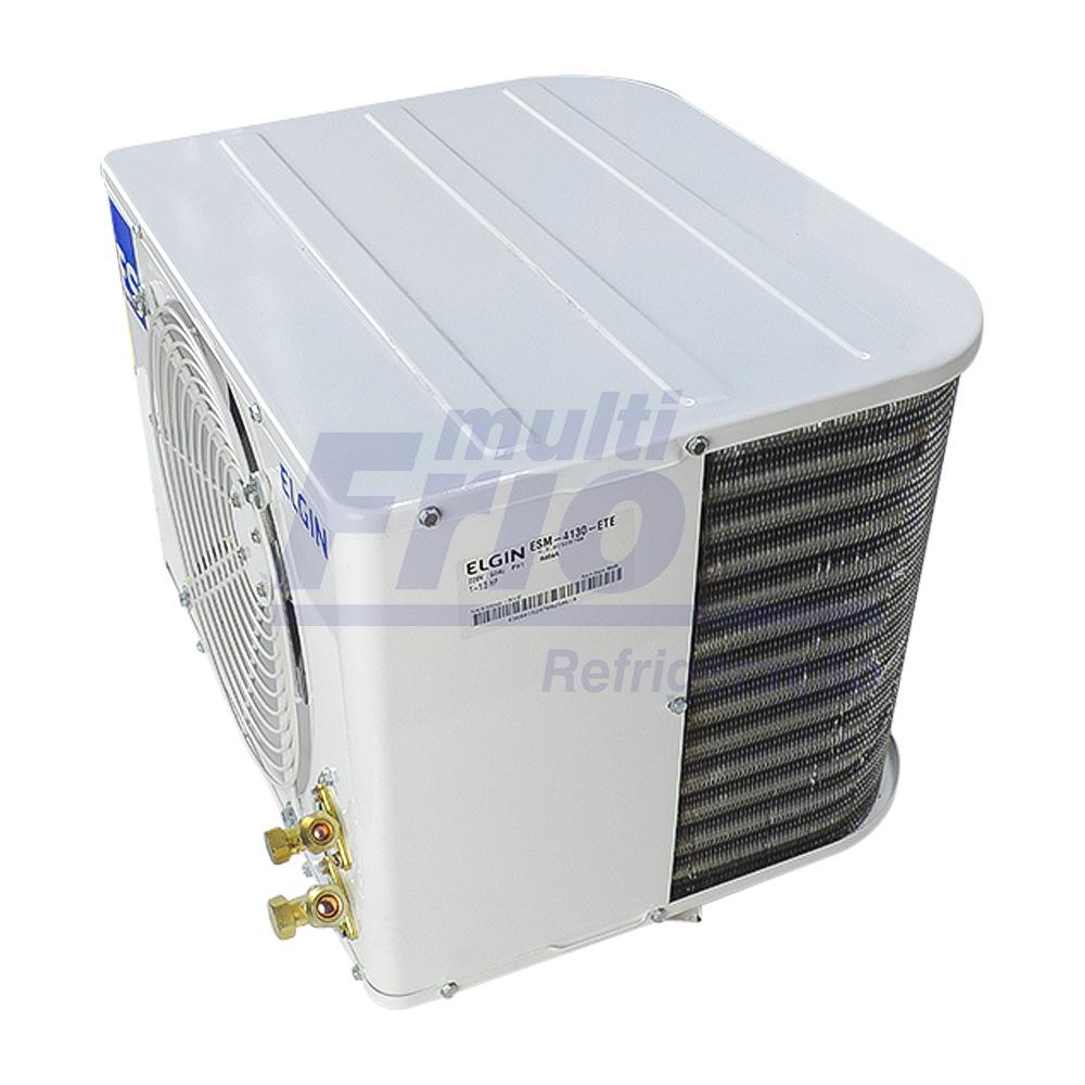 Unidade Condensadora 1.1/3 HP Elgin ESM 4130 Monofásico R404A 220V