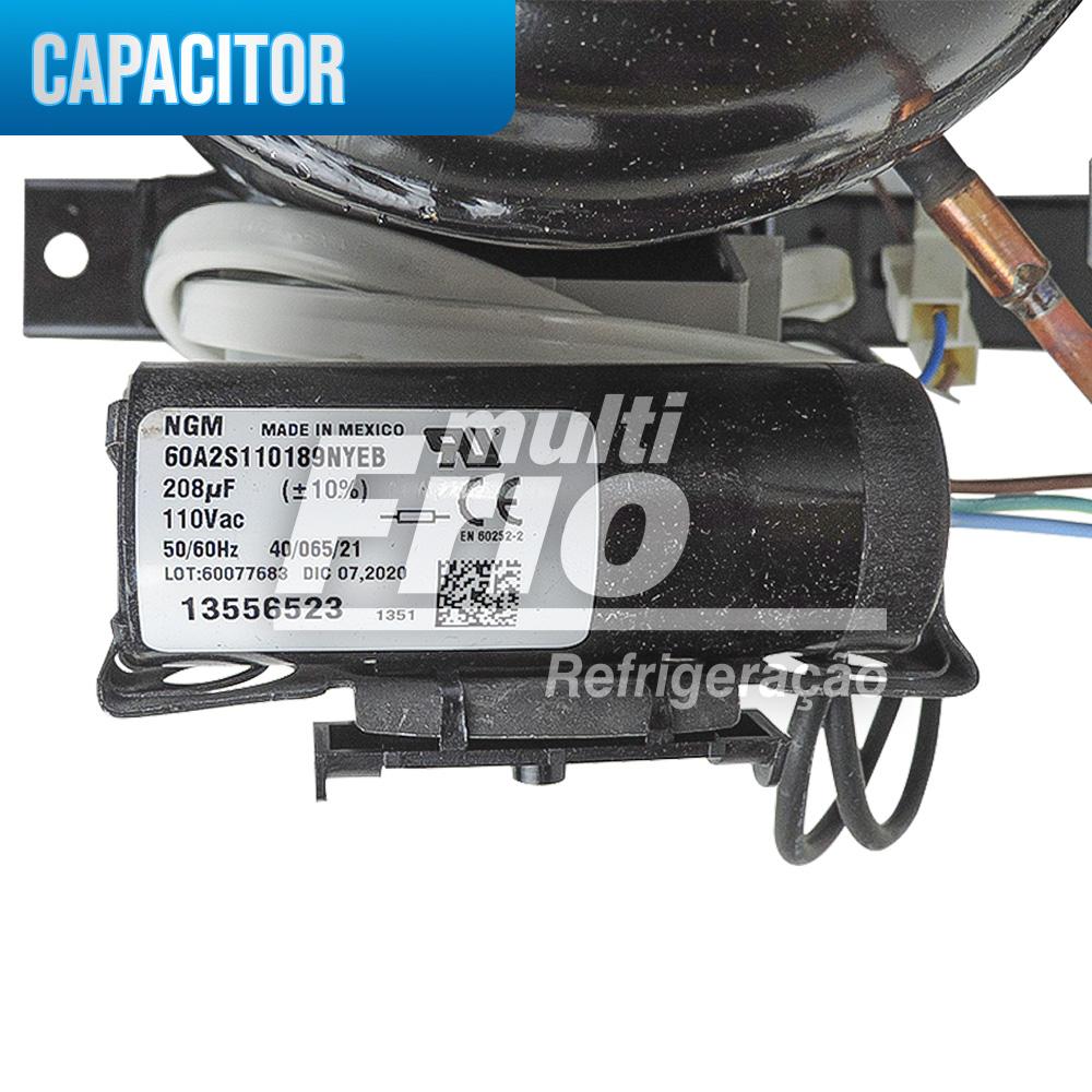Unidade Condensadora 1/4+ 220V R134A UFUS80 HAK