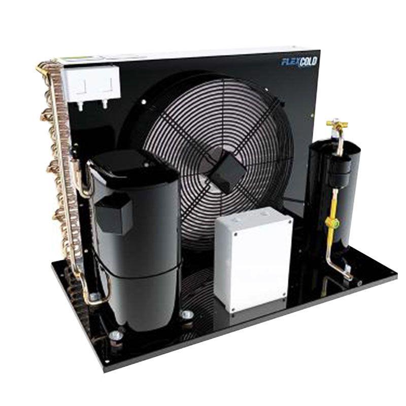 Unidade Condensadora 2,5 HP Elgin FlexCold 250 H2C Trifásico R22 HP81 220 V