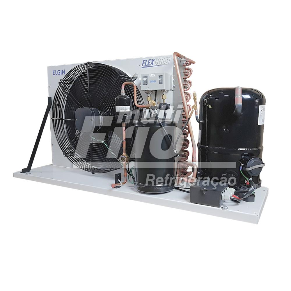 Unidade Condensadora 2 HP Elgin SLM 2200 Trifásico R22 220V