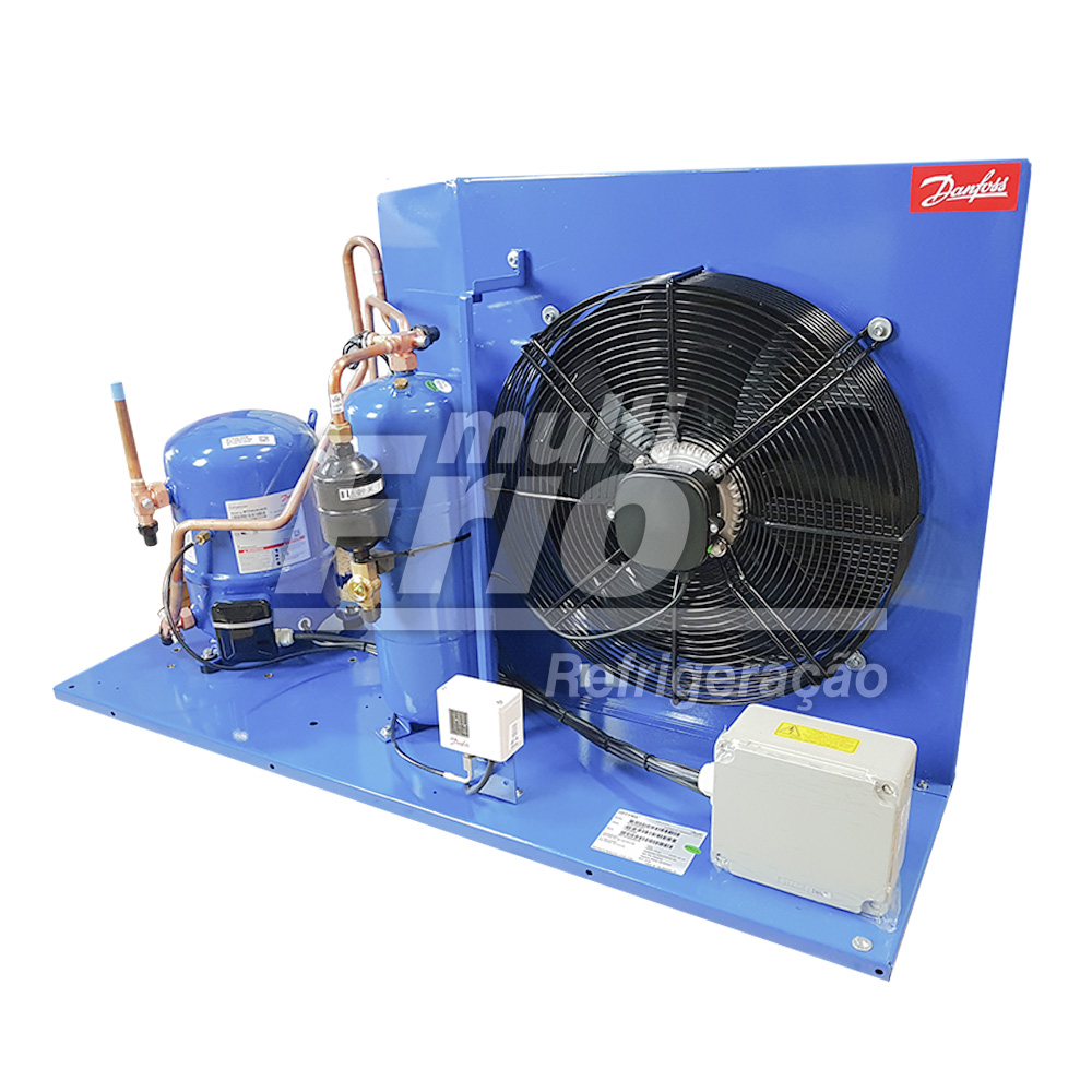 Unidade Condensadora 3.5 HP Danfoss HJZ036D20Q R404a Trifásico 220V
