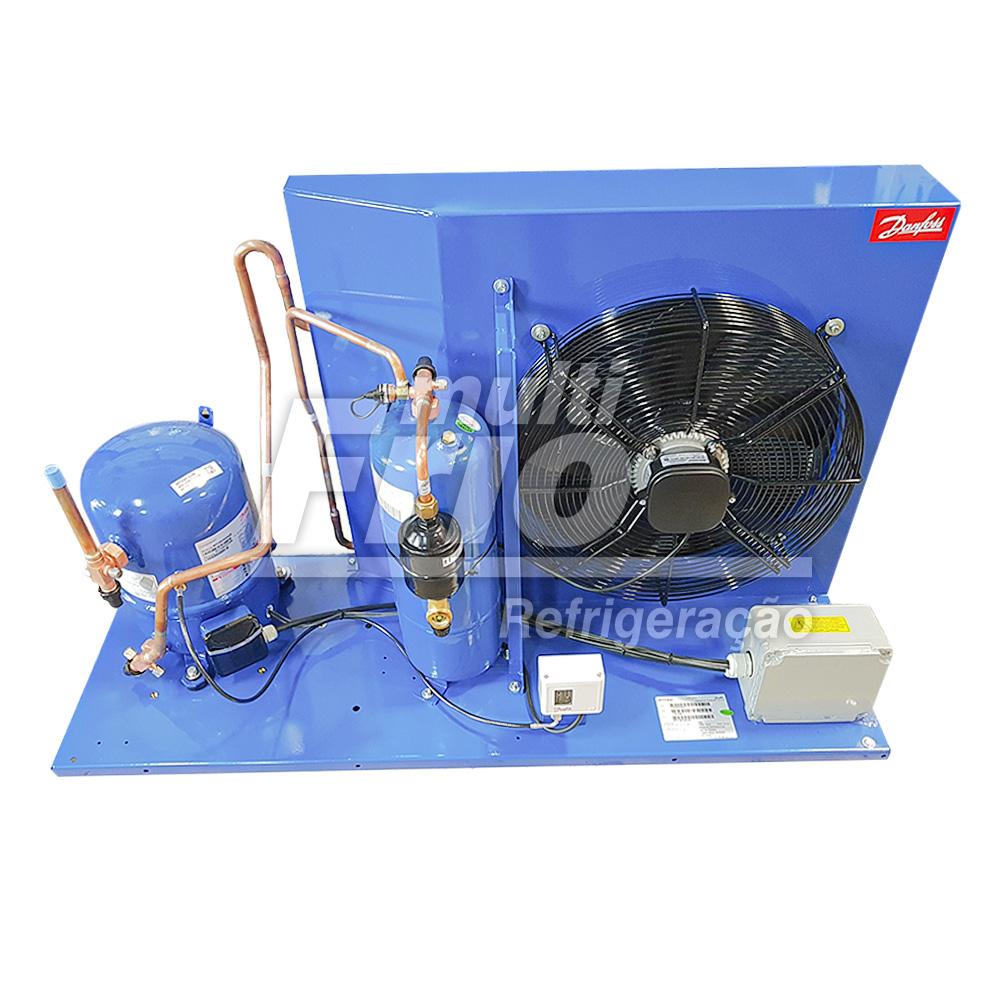 Unidade Condensadora 6 HP Danfoss HJZ064D20Q R404a Trifásico 220V