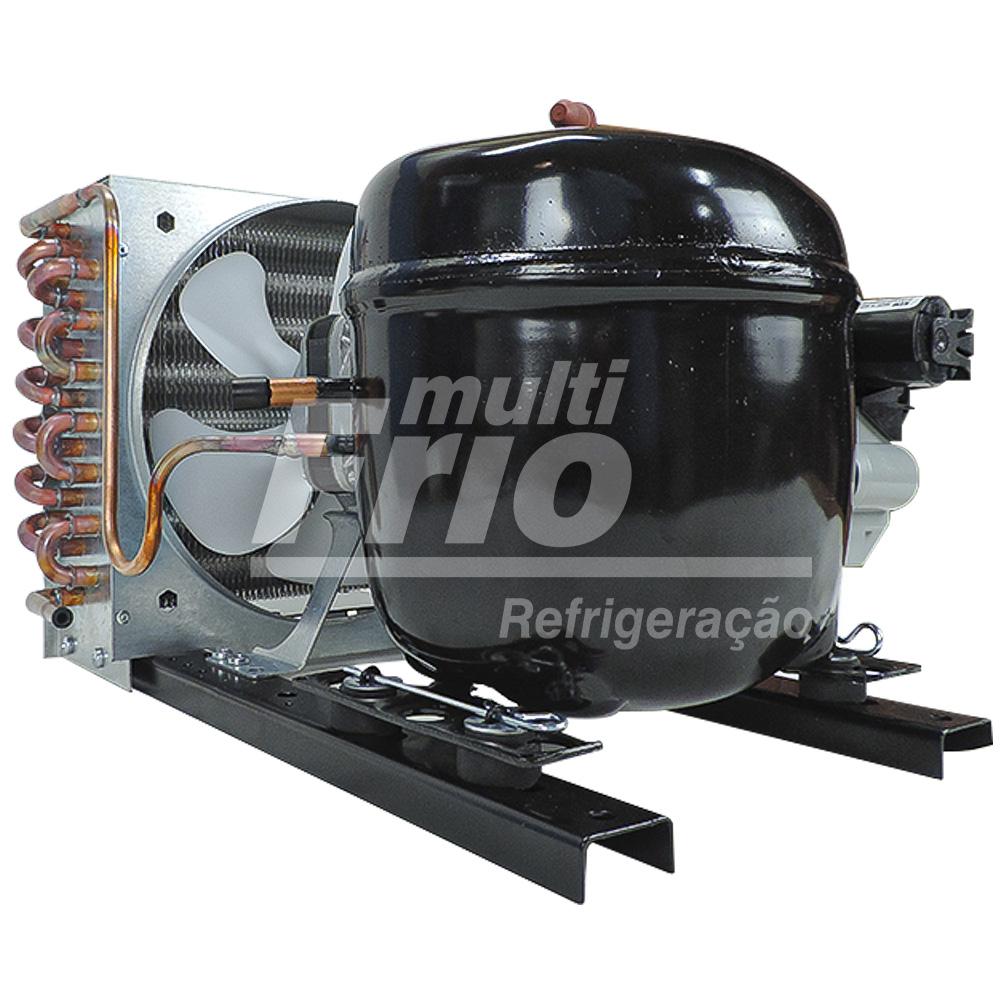 Unidade Condensadora 1/3+ HP 220 V R134a EMBRACO UFF033 + XZ (Substituiu modelo UFI12HBX)