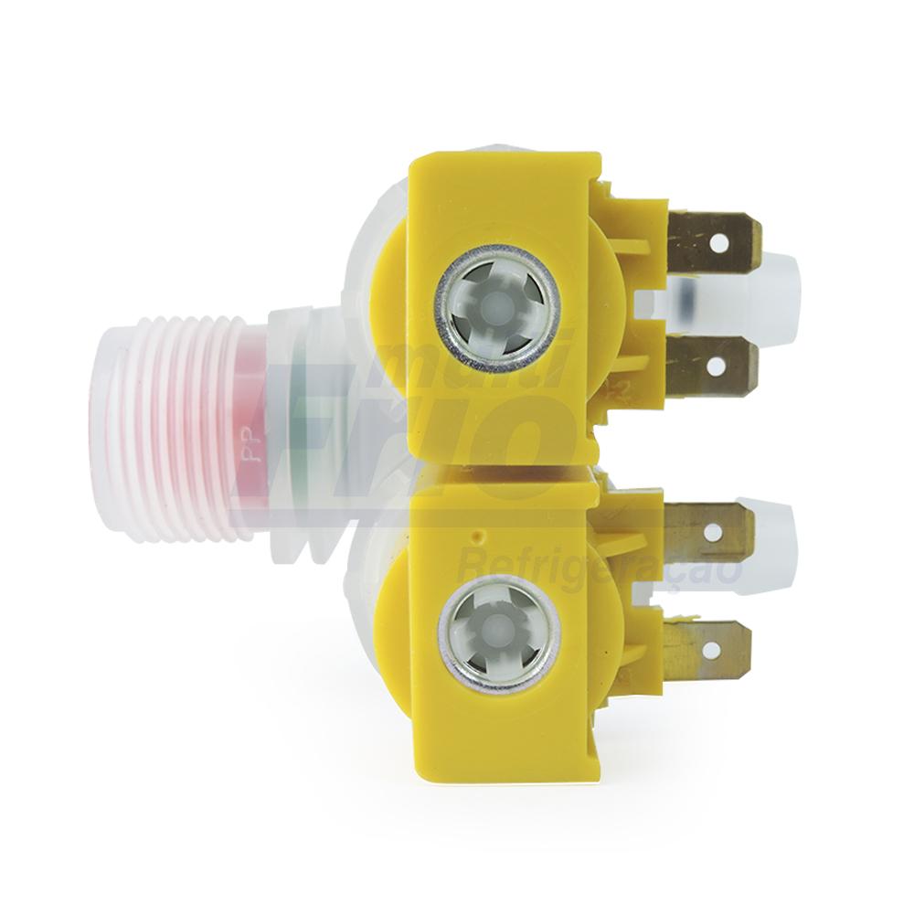 Válvula Dupla Entrada Água LR Electrolux 110V ( EMICOL 97679410000 )