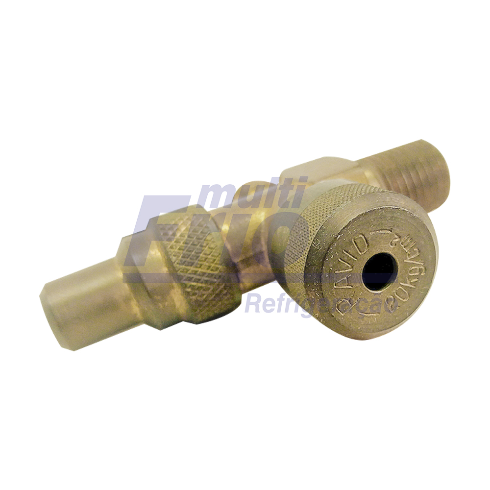 Válvula Perfuradora Para Garrafa Chemours / Freon / Dupont