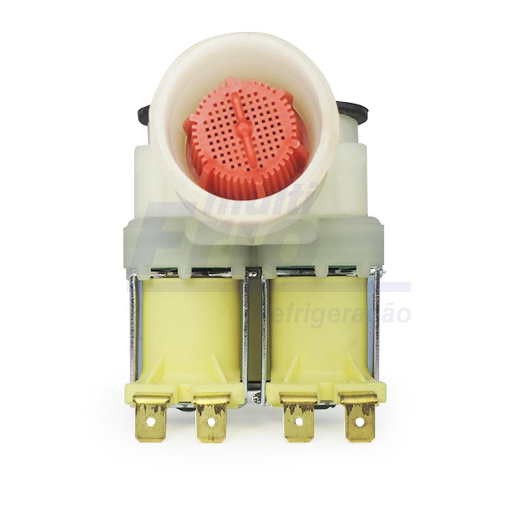 Válvula tripla lavadora Brastemp e Electrolux - 127 Volts (976284100)