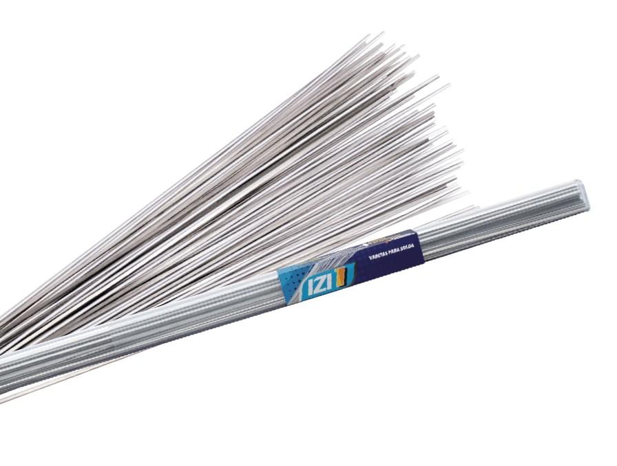 Vareta de Solda IZI 1 Com Fluxo Interno Para Cobre/Alumínio e Alumínio/Alumínio