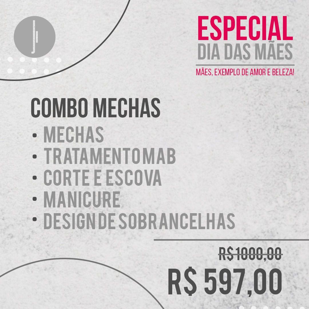 ESPECIAL DIA DAS MÃES - COMBO MECHAS