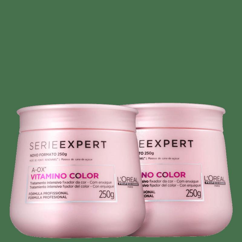 Kit L'Oréal Vitamino Color (2 Máscaras)