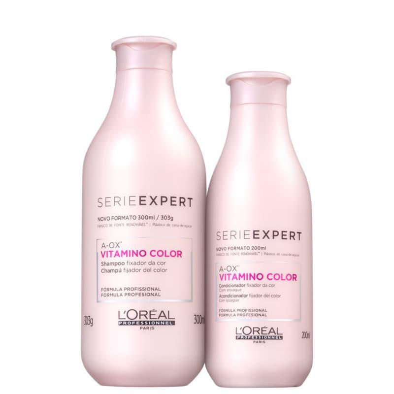 Kit L'Oréal Vitamino Color (2 Produtos)