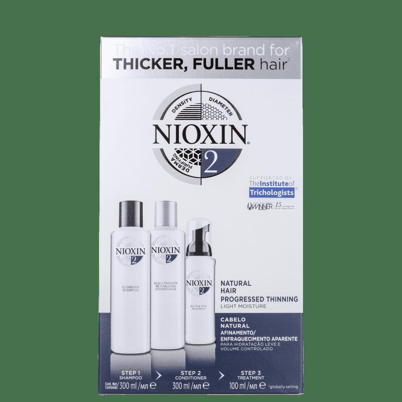 Kit Nioxin System 2 (3 Produtos)