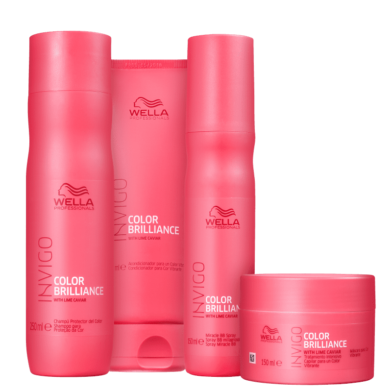 Kit Wella Color Brilliance (4 Produtos)