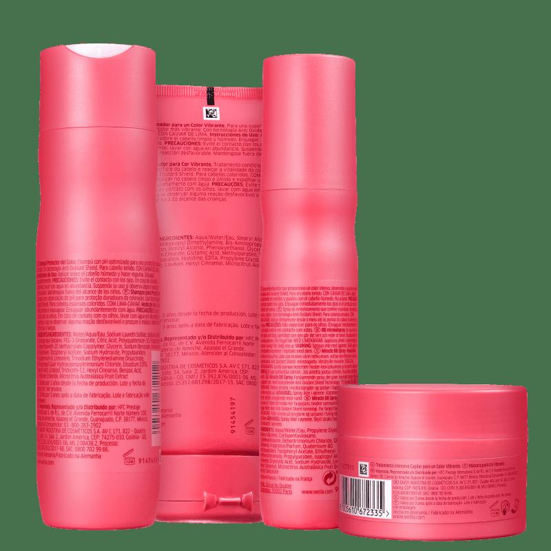 Kit Wella Color Brilliance (4 Produtos)