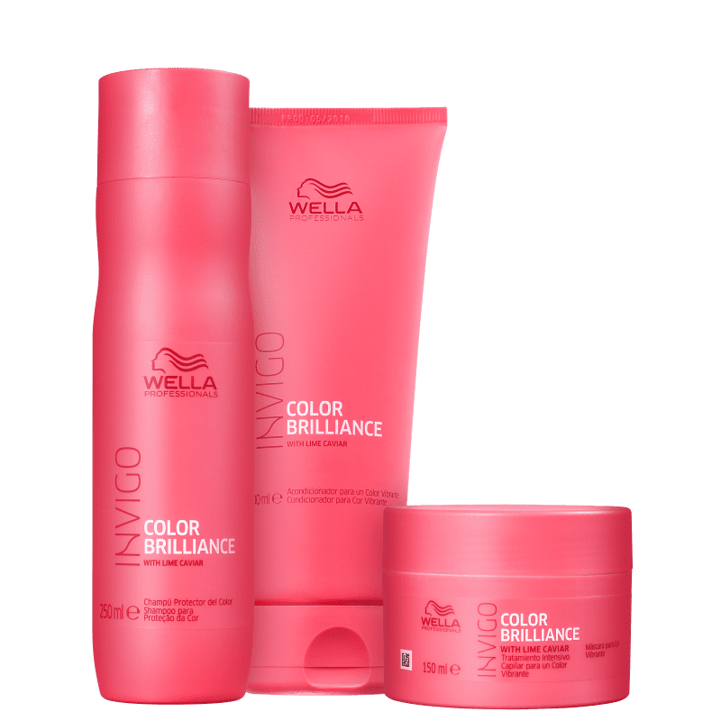 Kit Wella Color Brilliance (3 Produtos)