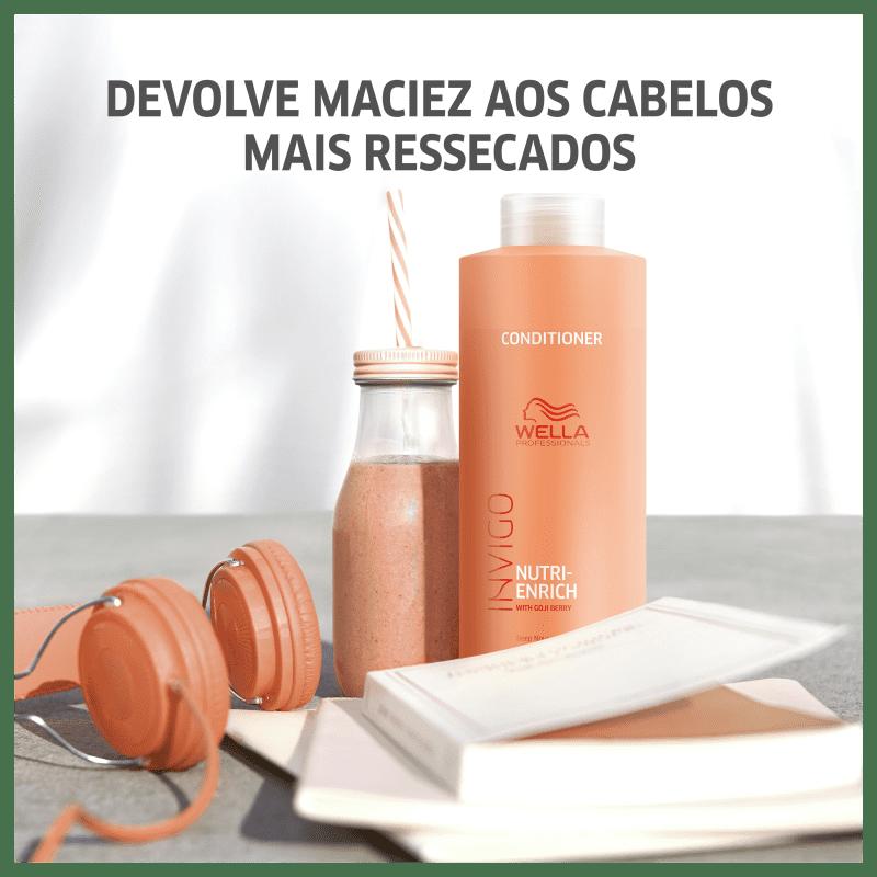Kit Wella Nutri-Enrich Salão (3 Produtos)