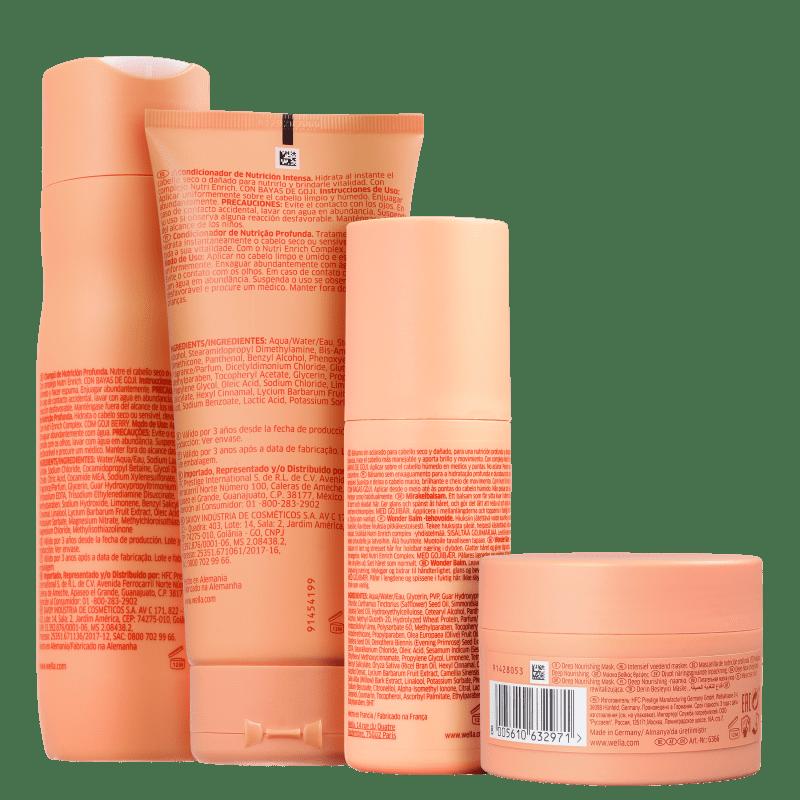 Kit Wella Nutri-Enrich (4 Produtos)