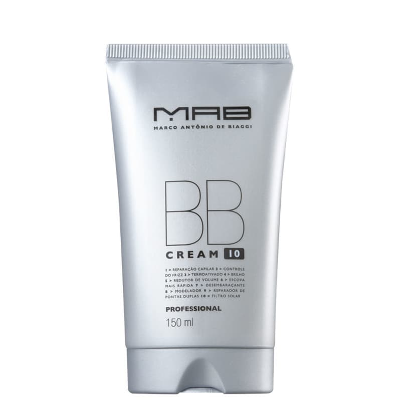 MAB Marco Antônio de Biaggi BB Cream - Leave-in 150ml